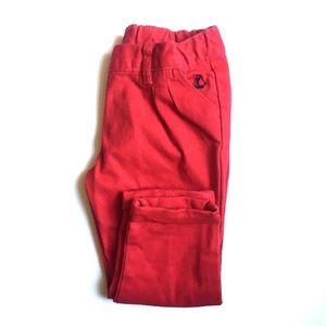 Petit Bateau • NWT red toddler pants